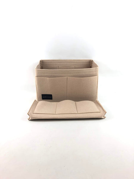 Beige Medium Felt Bag Insert/Organizer