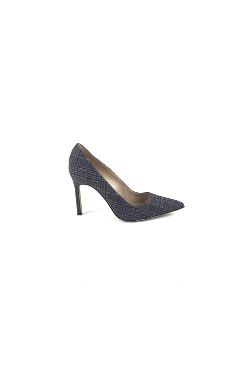 Grey Tweed BB 105 Pumps