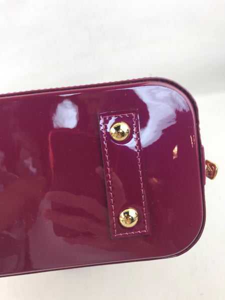 Magenta Alma BB Bag W/GHW