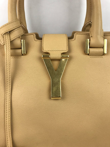 Paris Nude Leather ChYc Cabas Tote W/ GHW