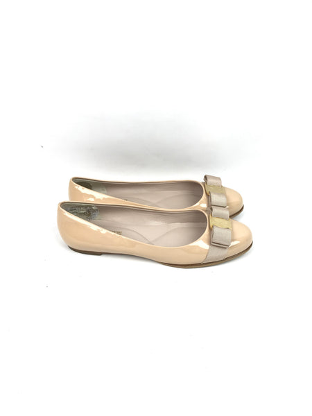 Cream Vara Bow-Tie Accent Flats