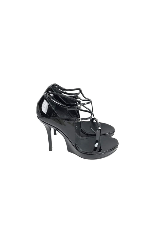 Black Patent Leather Pumps - Haute Classics