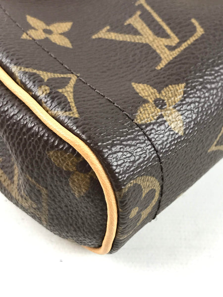 Monogram Coated Canvas Beverly Clutch Bag