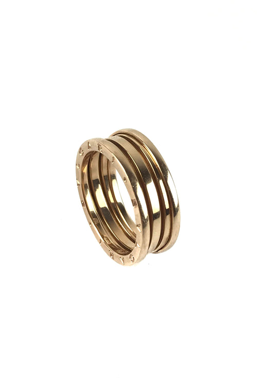 18K Rose Gold B.Zero1 4 Band Ring