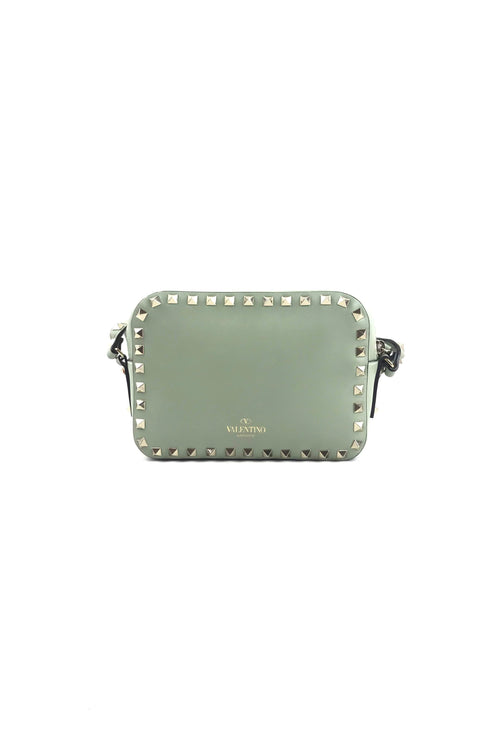 Garavani Rockstud Light Green Small Camera Bag