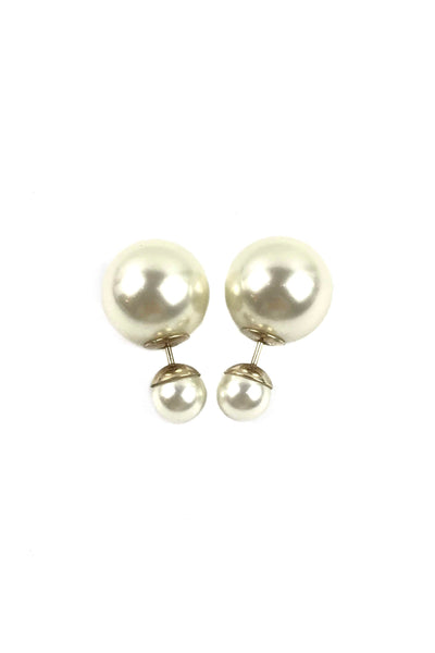 CD Tribales Pearl Earrings