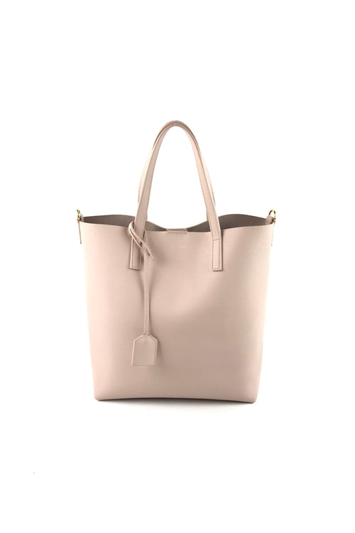Powder Supple Leather Toy Small Shopping Tote