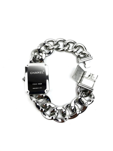Premiere Chain H3250 W/ Black Dial Silver Watch 28mm