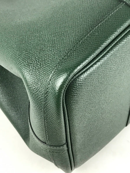 Vert Anglais Epsom Leather Garden Party 36 Tote