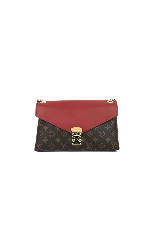 Cerise Monogram Pallas Chain Bag