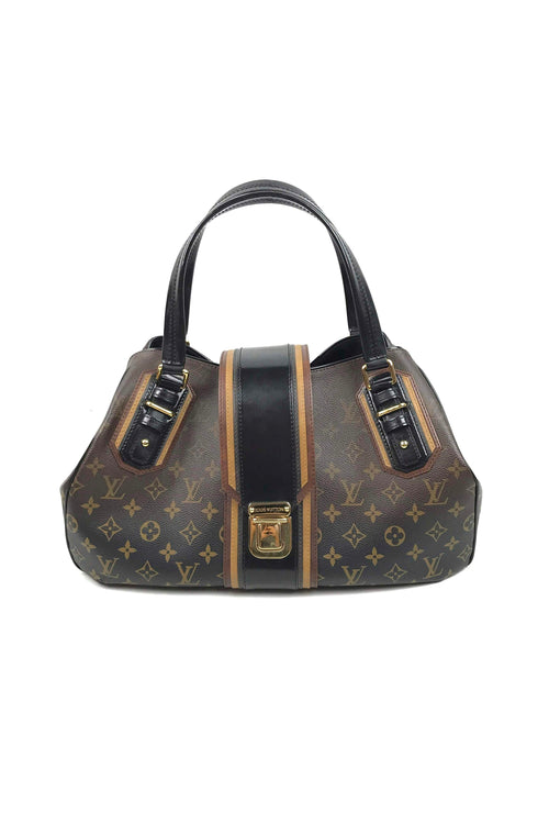 Limited Edition Noir Monogram Mirage Griet Bag W/ GHW