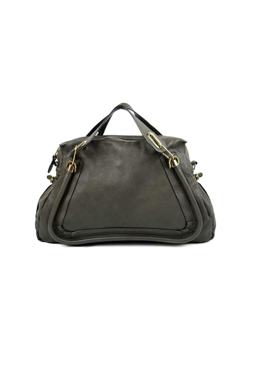Grey Large Paraty Bag w/ GHW