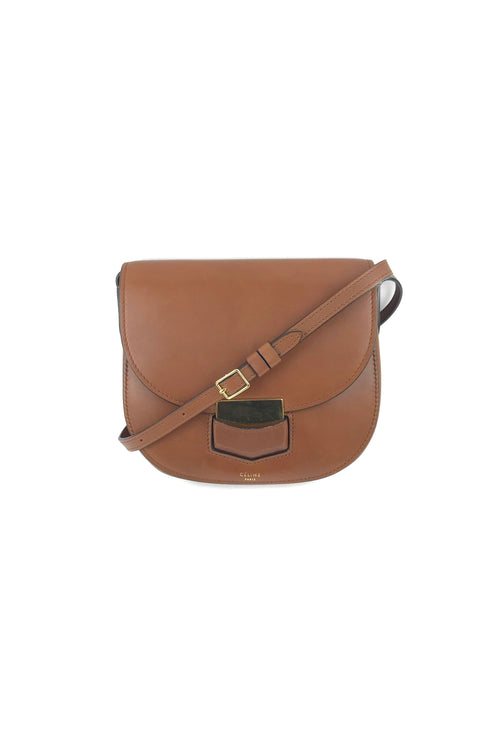 Chestnut Brown Small Trotteur Crossbody Bag