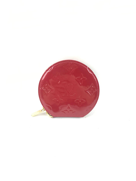 Cerise Vernis Exley Coin Purse
