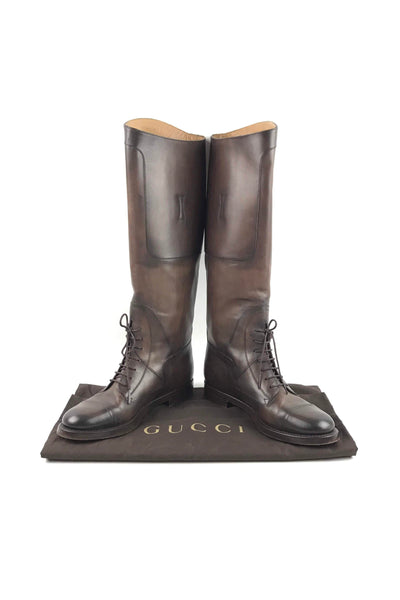 Tan Leather Betis Glamour Equestrian Boots