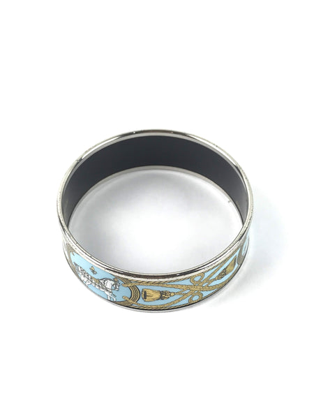 Hermes Blue Atoll Grand Apparat 2 Bangle