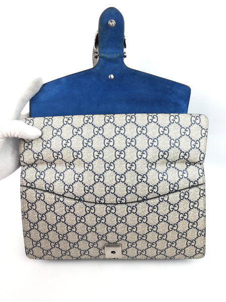 36718354375 Supreme Canvas Small Blue GG Blooms Dionysus Shoulder Bag – Haute ...