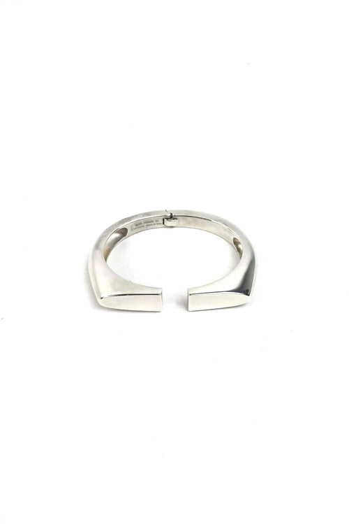 Sterling Silver Chain d'Ancre Initiale Bangle
