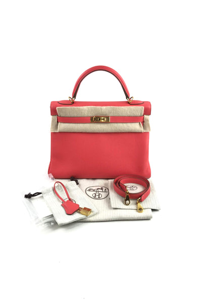 Rose Jaipur Clemence Retourne Kelly 32 Bag