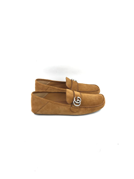 Brown Suede GG Men's Loafers