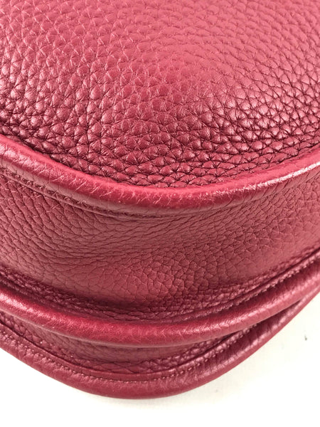 Taurillon Clemence Evelne lll GM Bordeaux Bag W/PHW