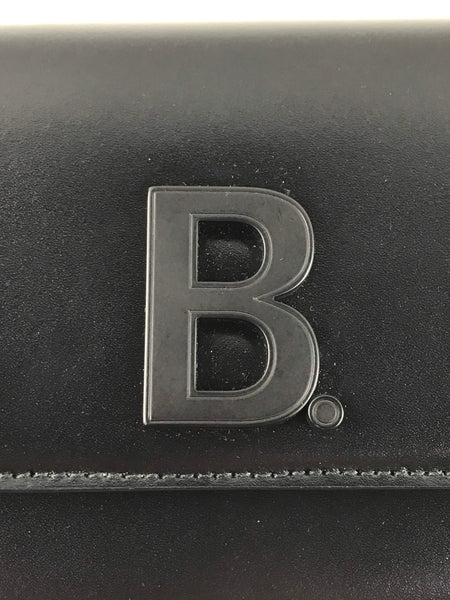 Black Leather B Logo WOC W/BHW