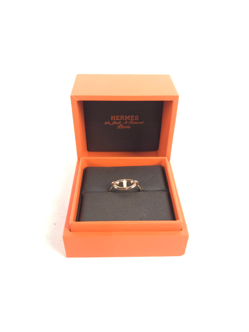 Farandole Chain d'Ancre  Rose Gold Ring