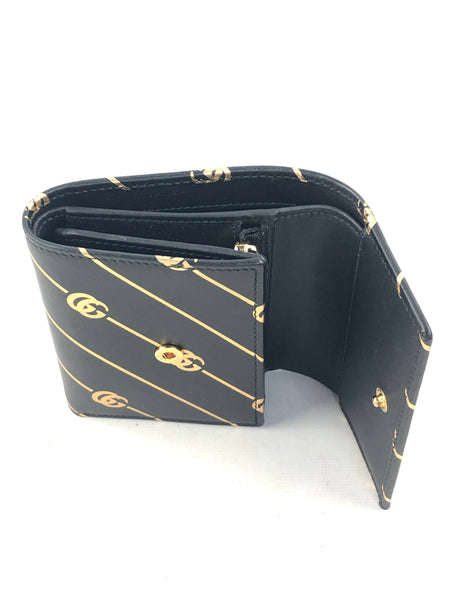 GG Marmont Card Case Trifold Wallet