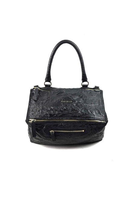 Black Croc Embossed Phantom Tote W/ BHW