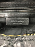 "Black Wrinkled ""Old Pepe"" Sheepskin Medium Pandora Bag W/ GHW"
