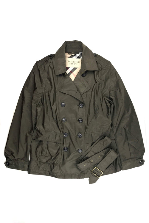 Brit Olive Green Heritage Jacket