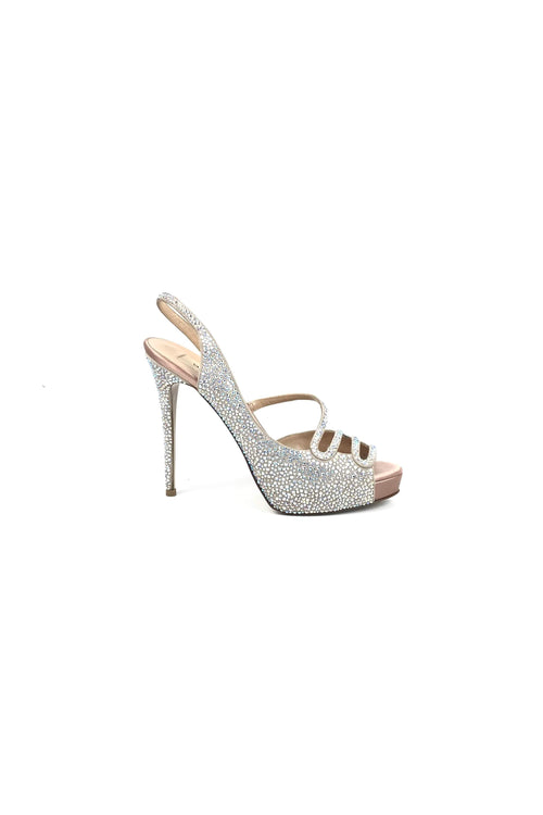 Strass Studded Vishna Sandals