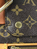 Camel Monogram Canvas Olympe Bag  W/ GHW