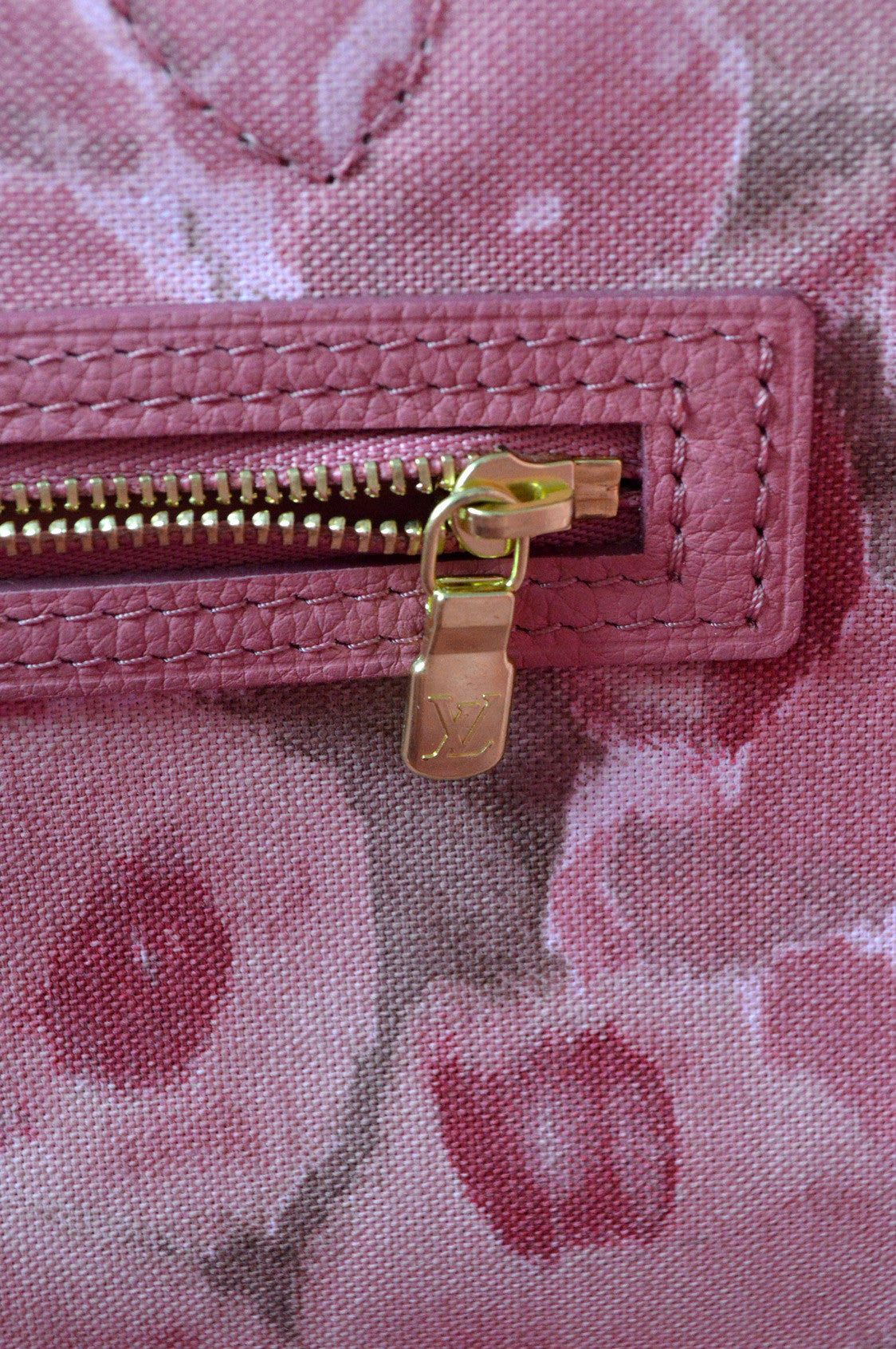 Ikat Flower Rose Velours Neverfull GM