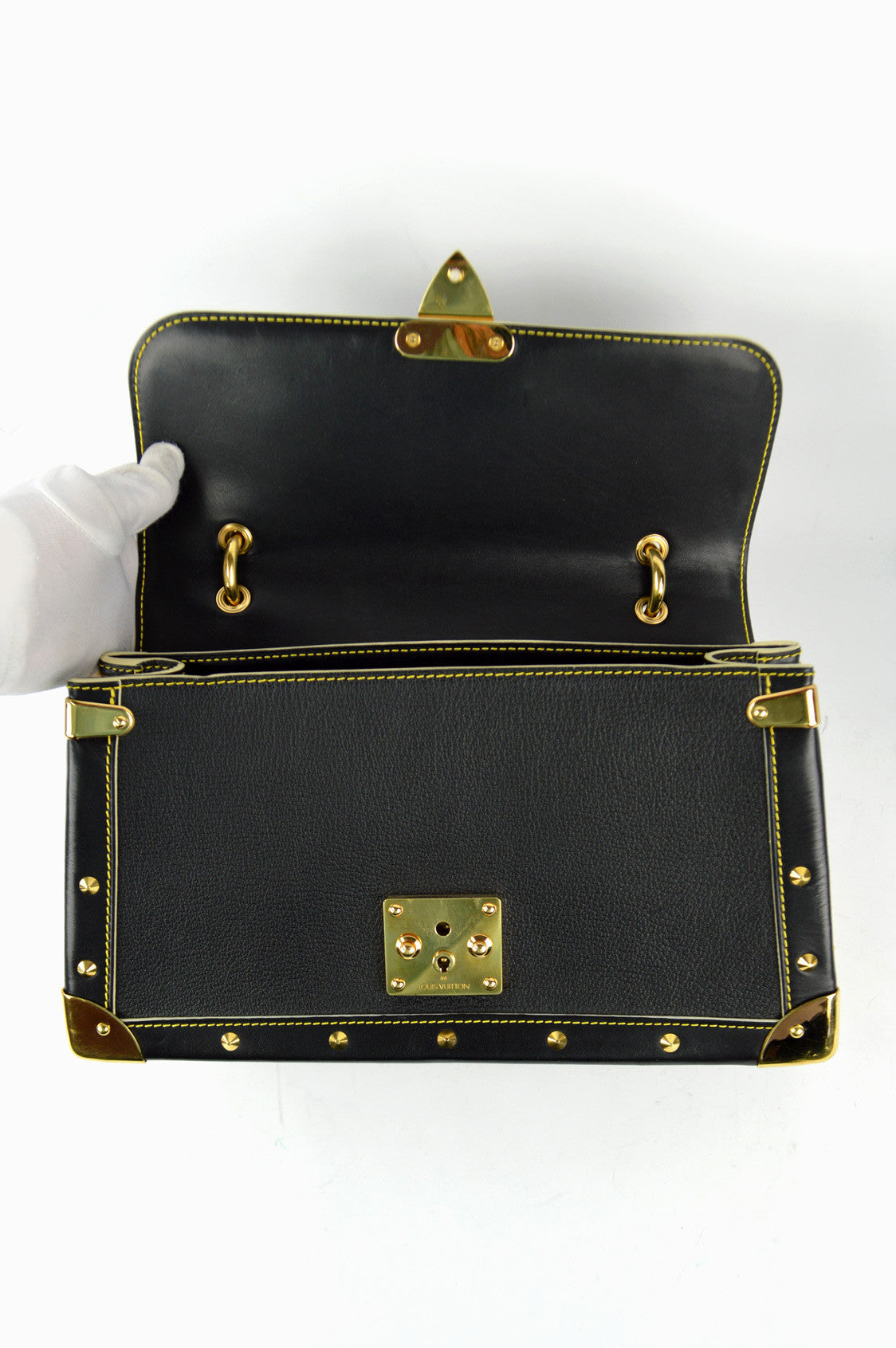 Black Suhali Leather Talentueux Bag