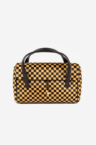 Limited Edition Damier Sauvage Lionne Ponyhair Bag