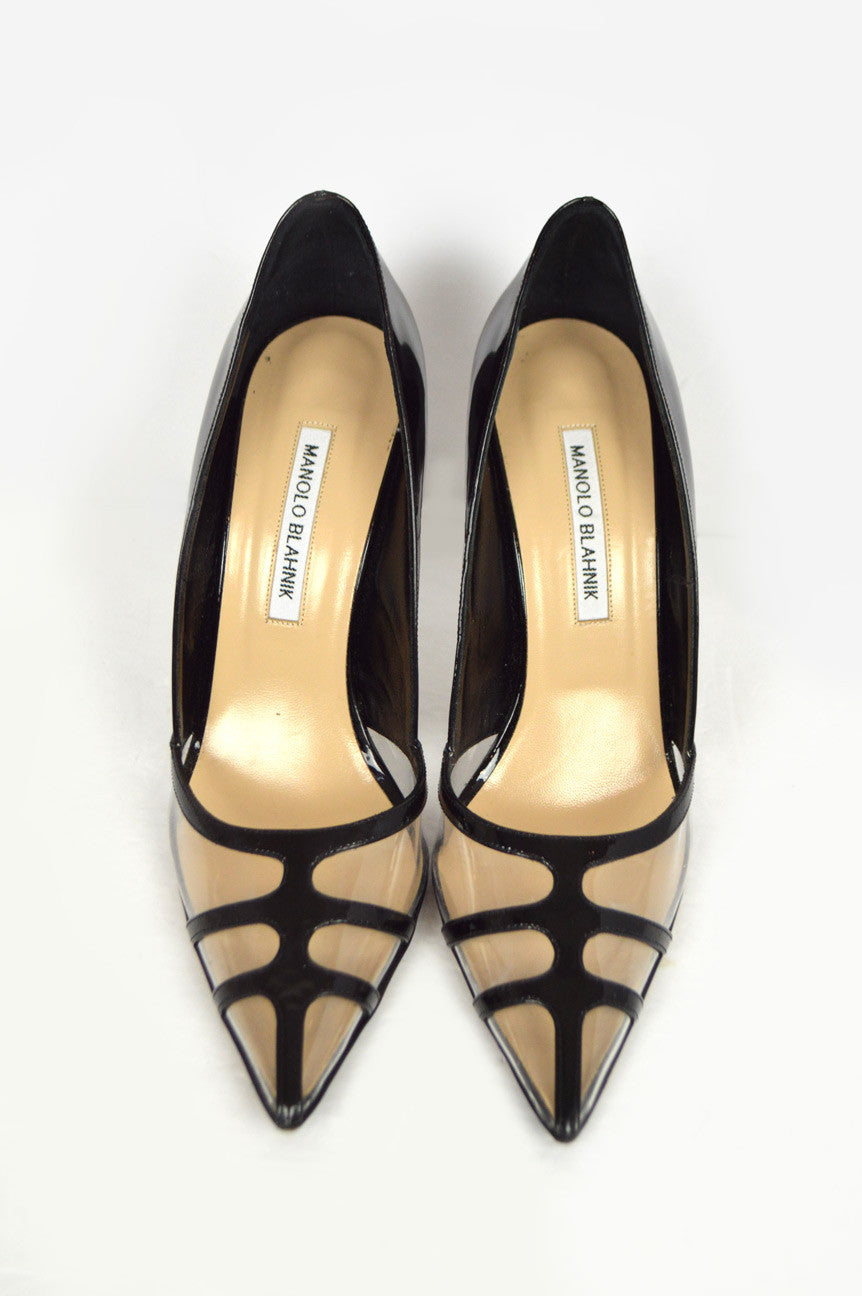Black Patent Gotria Pumps