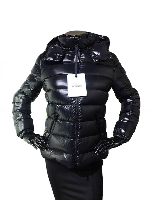 Black Baby Giubbotto Down Puffer W/Removable Hood