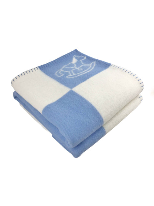Adada Avalon Light Bleu Glacier Blanket