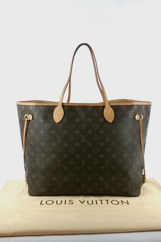 Monogram Coated Canvas Neverfull GM Tote