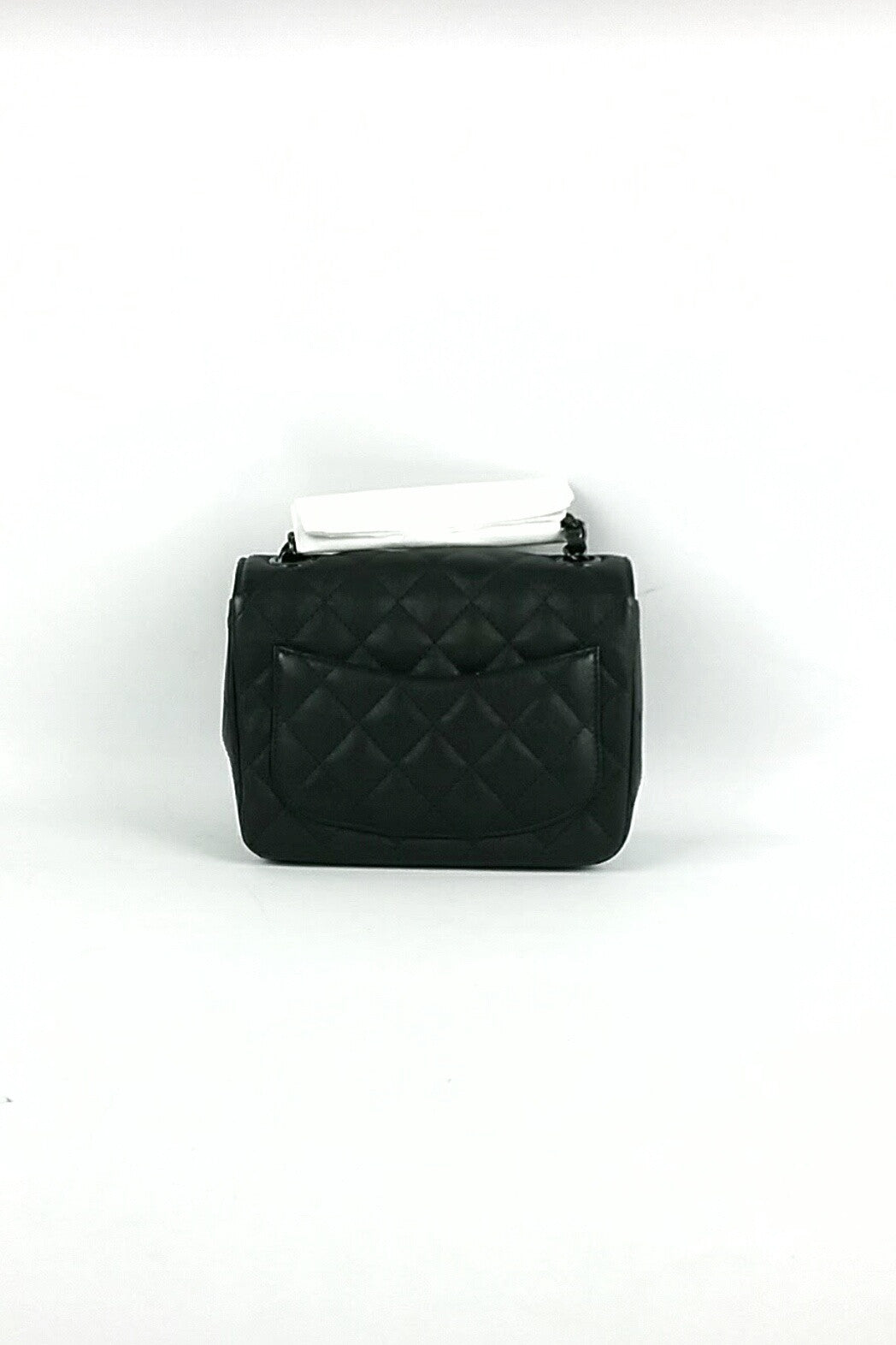 Caviar So Black Mini Flap Bag
