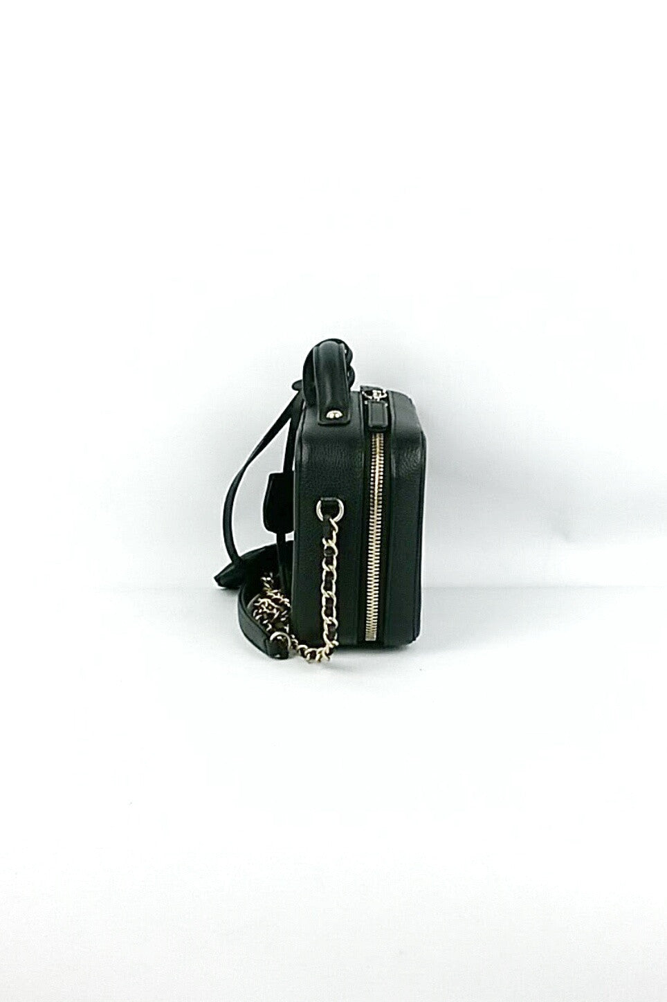 Caviar Filigree Small Vanity Case Bag