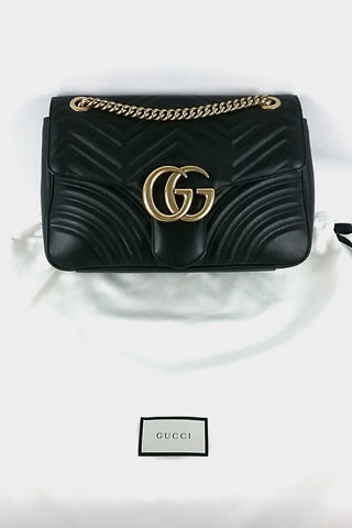 Marmont Matelasse Chain Bag