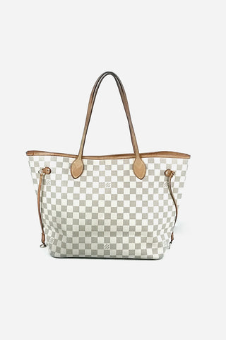 Damier Azur Neverfull MM Bag