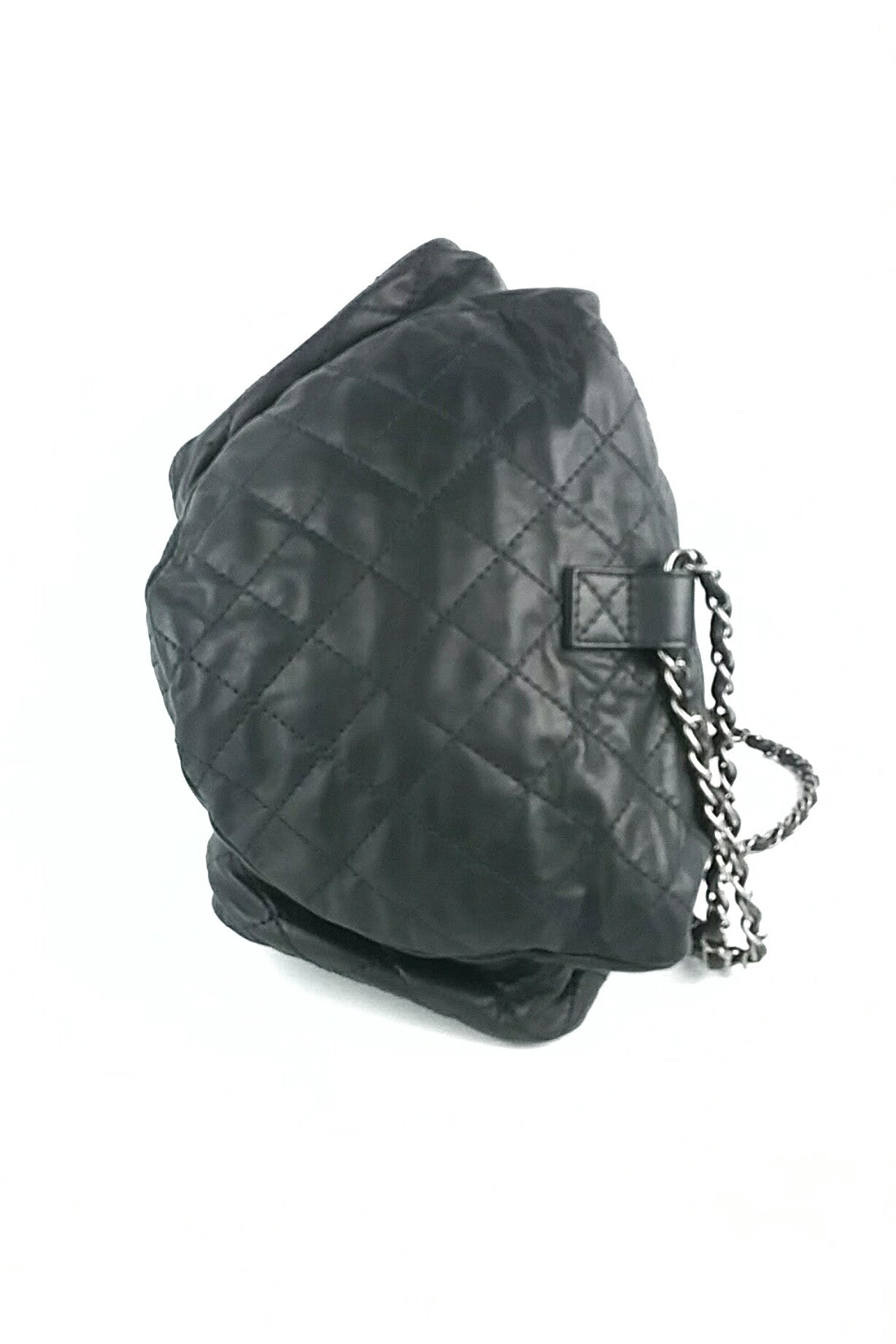"Large Black ""Backpack is Back"" Backpack"