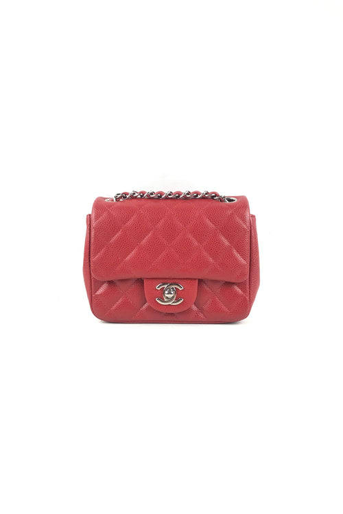 Red Caviar Square Mini W/SHW