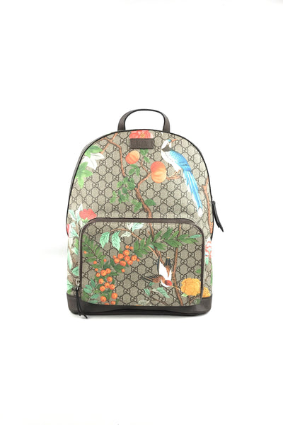 GG Supreme Coated Canvas Tian Backpack