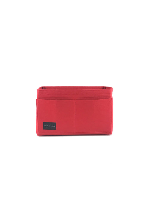 Red Medium Felt Bag Insert/Organizer