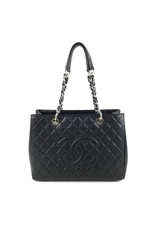 Black Caviar Quilted Classic GST W/ SHW