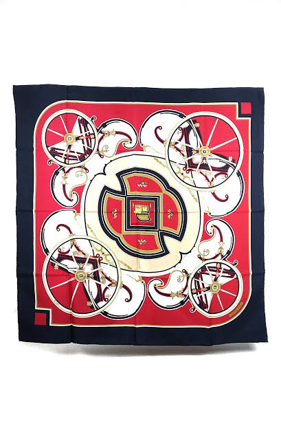 Washington's Carriage Silk Scarf
